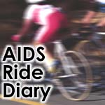 My AIDS Ride Diary